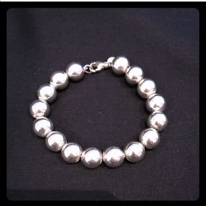 Authentic Tiffany ball bracelet!